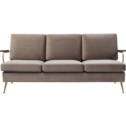 Sofa Gamble Sand 3-Seater