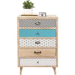 Dresser Capri 5Drw 60cm