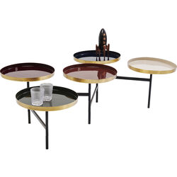 Coffee Table Plateau Colore Cinque