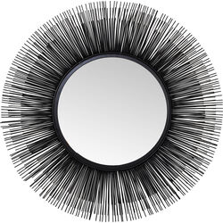 Mirror Sunburst Tre Black Ø87cm