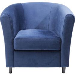 Armchair Africano Velvet Blue