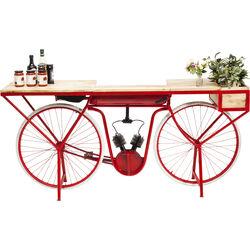 Console Bike rosso