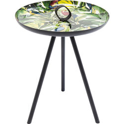 Side Table Jungle Parrots Ø39cm