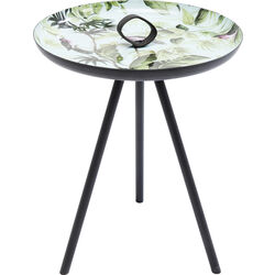 Side Table Jungle Birds Ø39cm