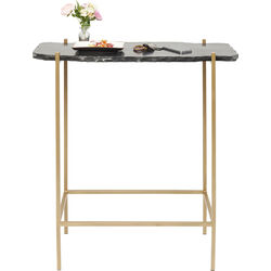 Bar Table Piedra Black 60x30cm