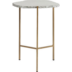 Side Table Piedra Grey 50x46cm