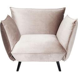 Arm Chair Molly Velvet Grey
