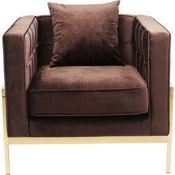 Armchair Loft Brown