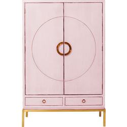 Kleiderschrank Disk Pink