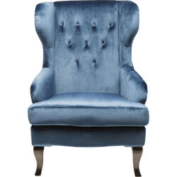 Arm Chair Vintage Blue