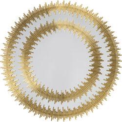Specchio Solare oro Ø132cm