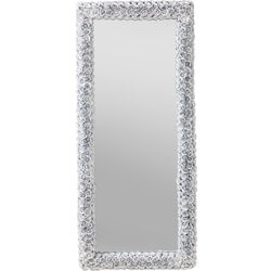 Mirror Rose Rectangular White 180x80cm