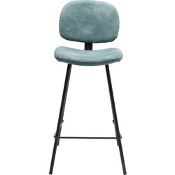 Bar Stool Barber Light Blue 65cm