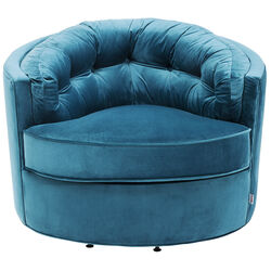 Swivel Chair Music Hall Turquoise