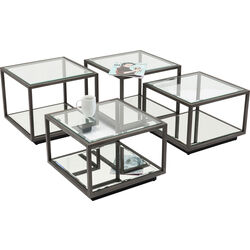 Coffee Table Luigi Black(4/Set)