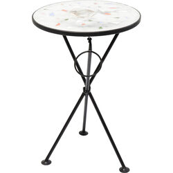 Side Table Clack Mosaic Multi Stone Ø36cm