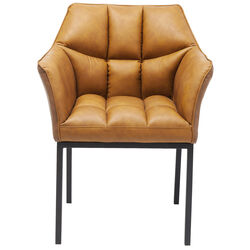 Chair with Armrest Thinktank Brown