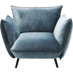 Arm Chair Molly Velvet Ocean