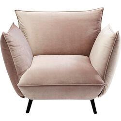 Arm Chair Molly Velvet Taupe