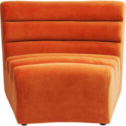 Sofa Element Wave Orange