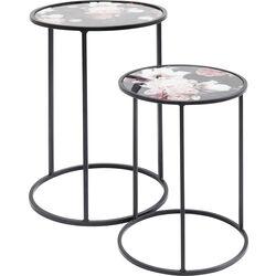 Side Table Peony (2/Set) Ø32,5cm