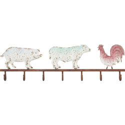 Coat Rack Farm Animals