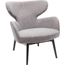 Armchair Black Aroha Grey