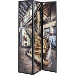 Room Divider Glass Old Staircase