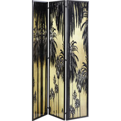 Room Divider Glass Palms