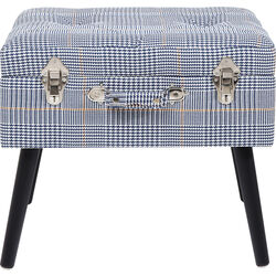 Foot Stool Suitcase Pepita
