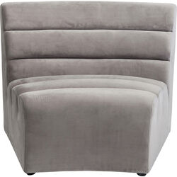 Sofa Element Wave Grey
