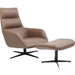 Swivel Chair + Stool Urban Desire