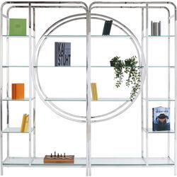Shelf Circles Silver 240cm