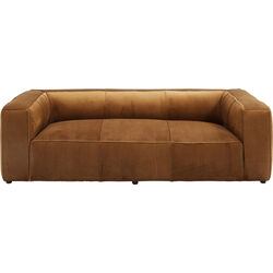 Sofa Cubetto Velvet Braun 2,5-Seater