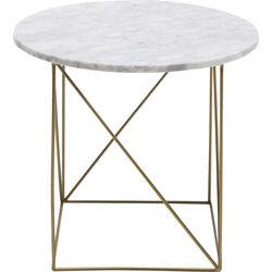 Side Table Key Largo White Ø40cm