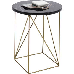 Side Table Key Largo Black Ø35cm