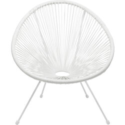 Arm Chair Acapulco White