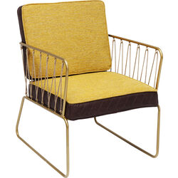 Arm Chair String Yellow