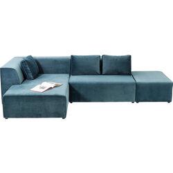 Sofa Infinity Velvet Ocean Left
