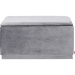 Bench Cherry Storage Grey  80cm