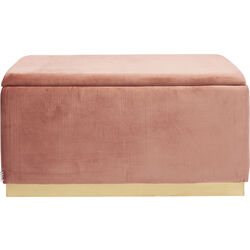 Bench Cherry Storage Mauve  80cm