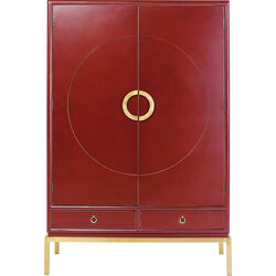 Armoire Disk rouge