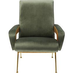 Arm Chair Luna High Green