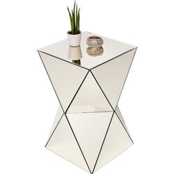 Mesa auxiliar Luxury Triangle Champagne