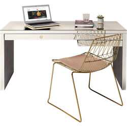 Desk Luxury Champagne 140x60cm