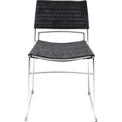 Chair Hugo Black Chrome