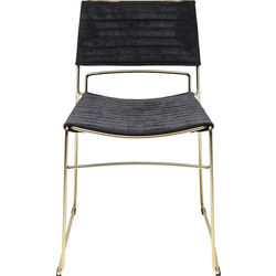 Chair Hugo Black Gold