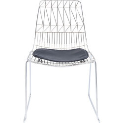 Chair Solo Black Chrome