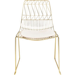 Chair Solo Cream Gold