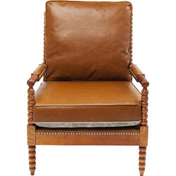 Armchair Haunted Castle Brown
